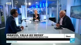 Video Gérard Filoche débat face au Medef sur France 24, le 27 août 2014 MP3, 3GP, MP4, WEBM, AVI, FLV Agustus 2017
