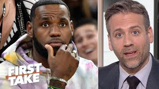 Video 'LeBron is on the clock' for a championship after Anthony Davis trade – Max Kellerman | First Take MP3, 3GP, MP4, WEBM, AVI, FLV Juni 2019