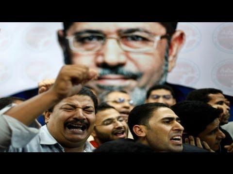 محمد مرسي يتعهد أن يكون رئيسا لجميع المصريين وتحقيق أهداف الثورة واحترام الاتفاقيات الدولية - فيديو