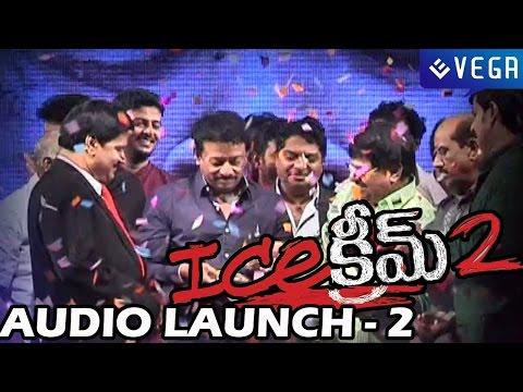 Ice Cream 2 Movie Audio Launch - Part 2 - Ram Gopal Varma, JD Chakravarthy, Naveena