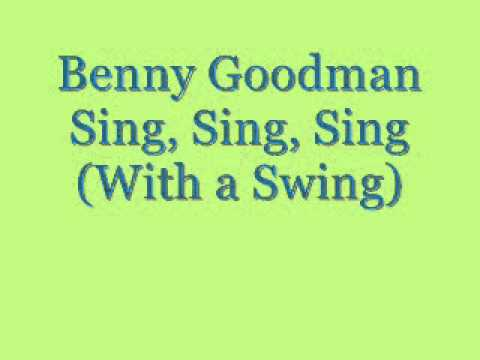Video Sing, Sing, Sing (With a Swing) Parts 1 & 2 - Benny Goodman and His Orchestra download in MP3, 3GP, MP4, WEBM, AVI, FLV January 2017