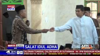Di Medan, Jamaah Tarekat Syattariah Rayakan Idul Adha