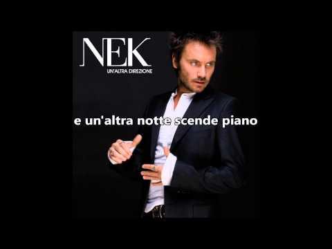 , title : 'Un'altra direzione - Nek - karaoke'