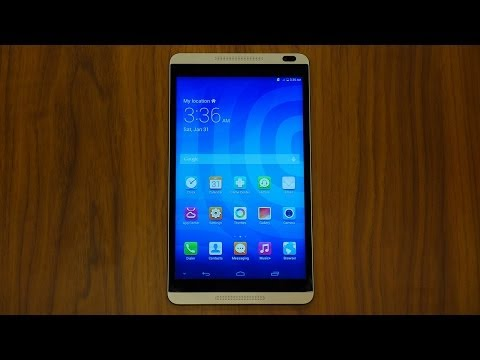 Huawei MediaPad M1 First Look and Hands On [MWC 2014]