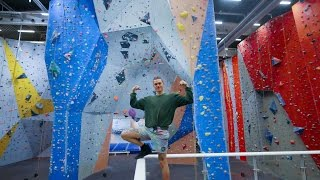 This Is Our Gym Klättercentret Telefonplan! by Eric Karlsson Bouldering
