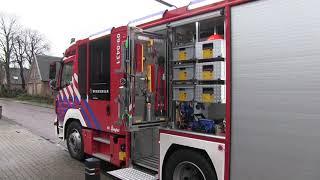 brandweer rukt uit naar Veenestraat