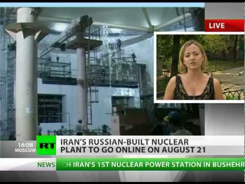 Power Up! Russia to start Iran's 1st nuclear plant next week