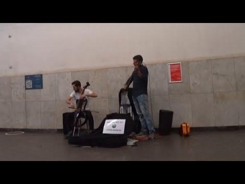 Музыка в метро / Сняла давно 21 августа 2018 г. (видео)