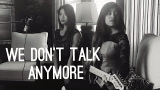 We Don't Talk Anymore - Charlie Puth ft. Selena G (Cover by Delarosa Duo)