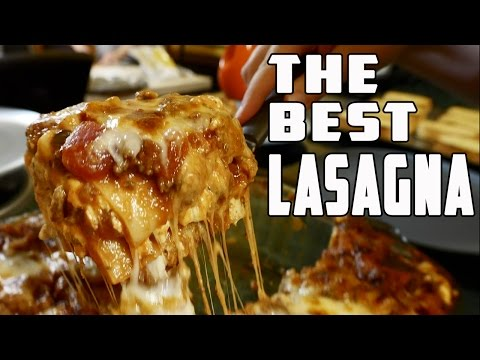 How to Make the Best Lasagna EVER!