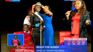 NONDO beauty pageant winner crownedSUBSCRIBE to our YouTube channel for more great videos: https://www.youtube.com/Follow us on Twitter: https://twitter.com/KTNNews  Like us on Facebook: https://www.facebook.com/KTNNewsKenya For more great content go to http://www.standardmedia.co.ke/ktnnews and download our apps:http://std.co.ke/apps/#android KTN News is a leading 24-hour TV channel in Eastern Africa with its headquarters located along Mombasa Road, at Standard Group Centre. This is the most authoritative news channel in Kenya and beyond.