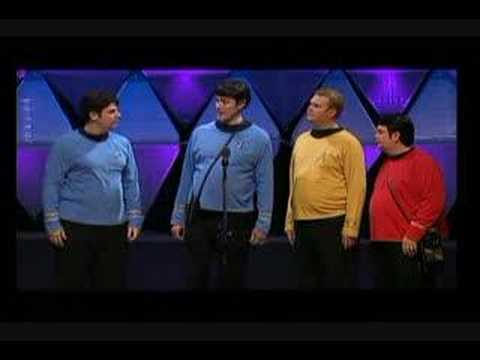 quartet - Star Trek parody song by Hi-Fidelity Quartet. www.hifidelityquartet.com.