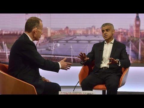 Londons Bürgermeister Khan fordert zweites