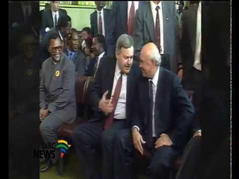 Historical visit by Mandela, De Klerk to Moria remembered