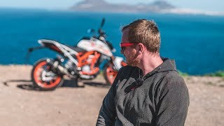 10. Vlog - KTM Duke 390 after 18 500 km