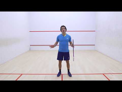 Squash coaching: Creating flow through the shot - Introduction