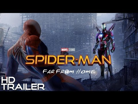 MARVEL Spider-Man Far From Home (fan made trailer)