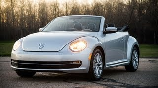 2013 Volkswagen Beetle Convertible TDI - WINDING ROAD POV Test Drive