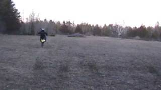 8. Suzuki Drz 125L Wheelies and Jumps
