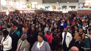 While preaching in Cape Town, South Africa, I fell in love with the campmeeting theme song. Per my special request, the congregation was kind enough to lift ...