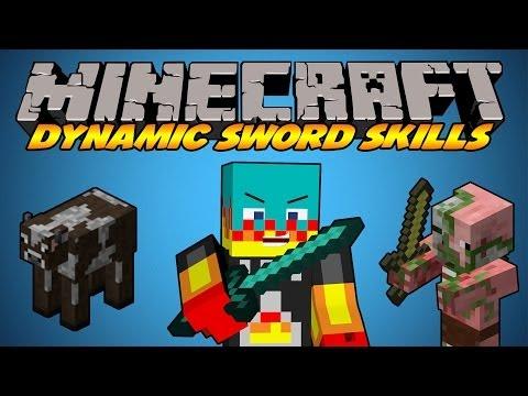 Minecraft   Mod Showcase   Dynamic Sword Skills