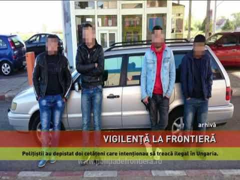 Migranți prinși la graniță
