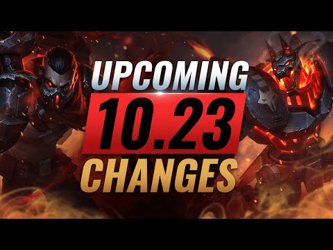 MASSIVE CHANGES: New Buffs & REWORKS Coming in PRESEASON Patch 10.23 - League of Legends