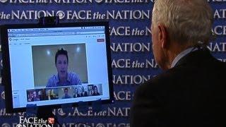 Face The Nation with Bob Schieffer - Internet religion revolution