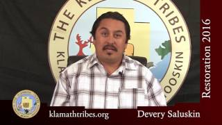 Restoration 2016 - What Does Restoration Mean to You? - Devery Saluskin