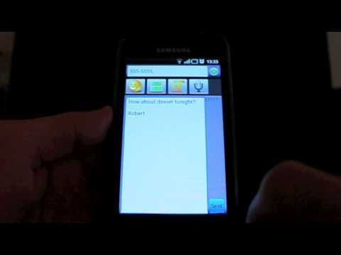Video of SMS Composer