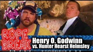 Download Lagu Let's Watch & Riff on HHH vs. Henry Godwinn | Rope Break Mp3