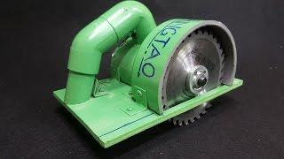 Video How to Make a Circular Saw Using 775 Motor and PVC Pipe MP3, 3GP, MP4, WEBM, AVI, FLV November 2017