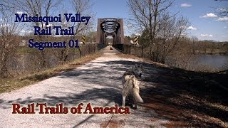 Saint Albans (VT) United States  city pictures gallery : Rail Trails of America - Missisquoi Valley Rail Trail - Segment 01 - St. Albans to Sheldon Junction