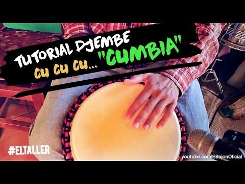 Como tocar CUMBIA – Djembe #ElTaller