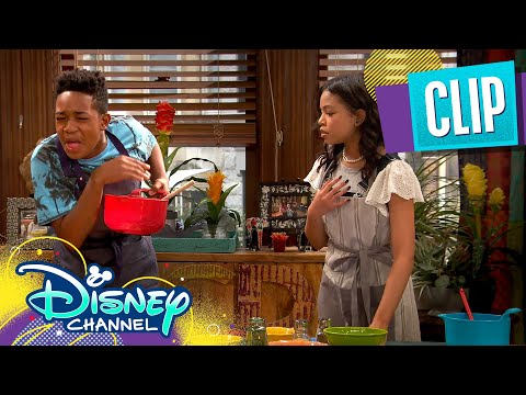Booker and Nia Get Jobs ☕  | Raven's Home | Disney Channel