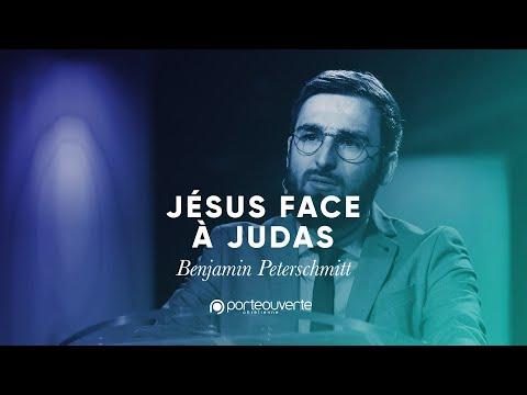 Jésus face à Judas - Benjamin Peterschmitt