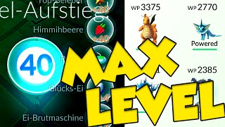 POKEMON GO MAX LEVEL 40! Guess what that means... by Verlisify