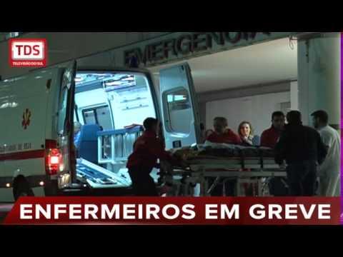 ENFERMEIROS EM GREVE HOJE A AMANHÃ