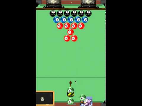 Video of Pool Ball Bubble Shooter