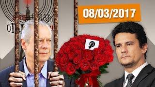 O STF deveria aprender com o juiz Sérgio Moro como é que se trata bandido! José Dirceu levou mais uma condenação na...