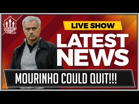 MOURINHO Could QUIT Manchester United! MAN UTD News