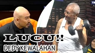 Download Video KOCAK!! DEDDY Dibully Kakek Ini Habis2an @Hitam Putih 4 April 2017 MP3 3GP MP4