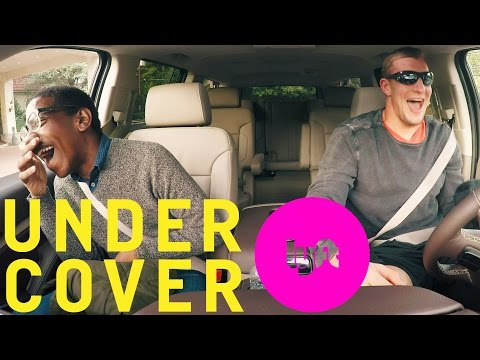 NFL Star Rob Gronkowski Goes Undercover as a Lyft