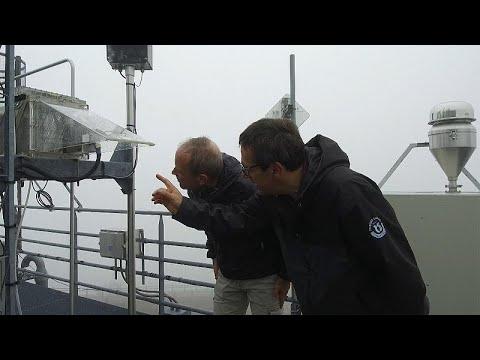 Μετρώντας τις συγκεντρώσεις CO2 στην ατμόσφαιρα