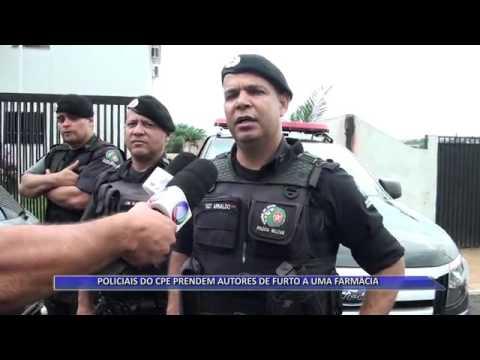 JATAÍ | CPE prende acusados de furto em farmácia