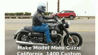 2. Moto Guzzi California 1400 Custom -  superbike Specs