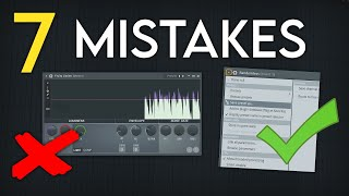7 Mistakes Every Producer Makes & How to Fix Them | FL Studio Tutorial