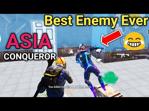 Best Enemy In PUBG Mobile Ever | PUBG Mobile Conqueror Gameplay