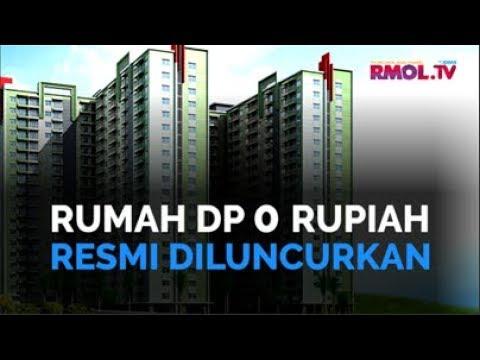 Rumah DP 0 Rupiah Resmi Diluncurkan