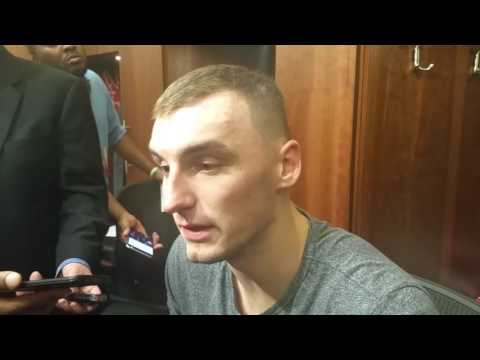 Sam Dekker after scoring career-high 19 points
